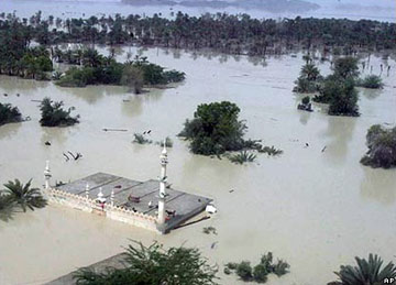 Pakistan flood - Turbat district