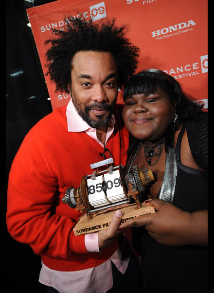 Lee Daniels and Gabourey Sidibe at Sundance 2009