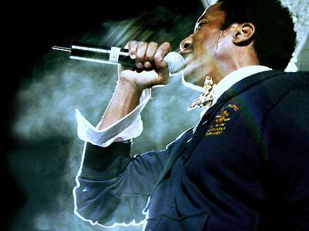 Q-Tip at the 2007 Seattle Music festival - Cathycracks