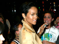 Rihanna mobbed outside Da Silvano in NY