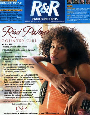 Rissi Palmer on the cover of RnR
