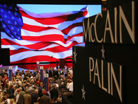 McCain/Palin sign at Republican National Convention