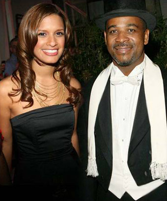 Rocsi and premier Michael Misick