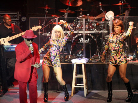Ron Isley performs at.. ?