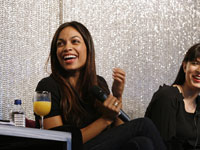 Rosario Dawson at MTV's Election Effect