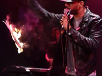 Ryan Leslie Sets Fire to the NY Post