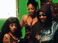 RZa on set of You Can't Stop Me Now video shoot