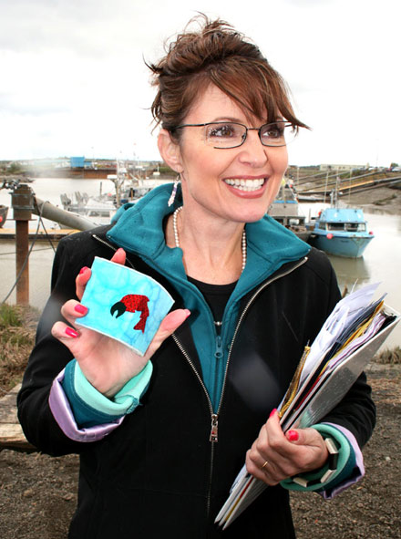 sarah palin fishing