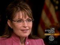 Sarah Palin interviewed by Katie Couric