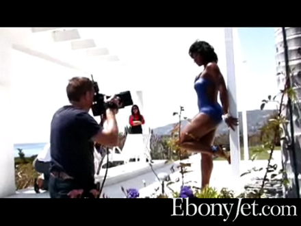 Serena Williams Ebony Cover Shoot