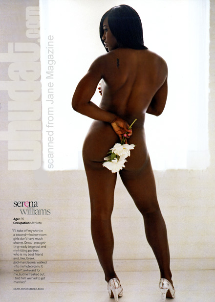 Serena Williams - Jane magazine