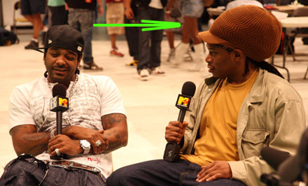 Sexy Lady remix video set - Jim Jones interviewed by Sway