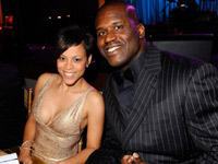 Shaq and Shaunie during happier times