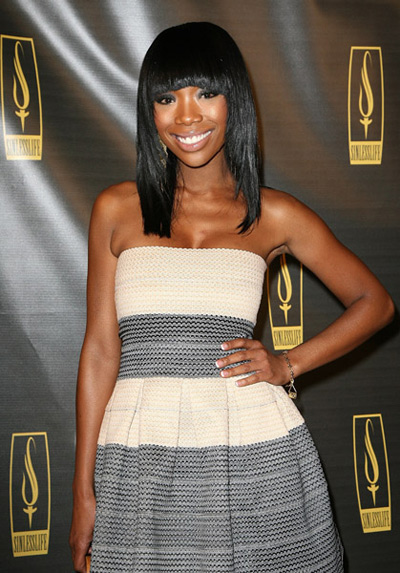 Brandy at Sinlesslife launch party