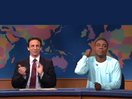 SNL - Tracy Morgan's Pro-Barack Obama moment
