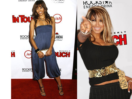 Amerie and Traci Bingham at In Touch Weekly's Summer Stars