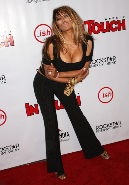 Stylish Gt Amerie And Traci Bingham At In Touch Weekly S