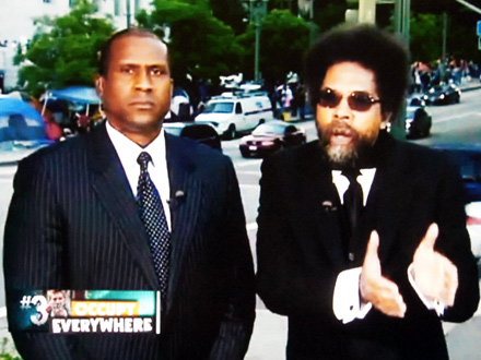 Tavis Smiley and Cornel West discuss Occupy movement