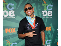 Chris Brown at Teen Choice Awards