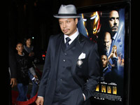Terrence Howard at Iron Man premiere