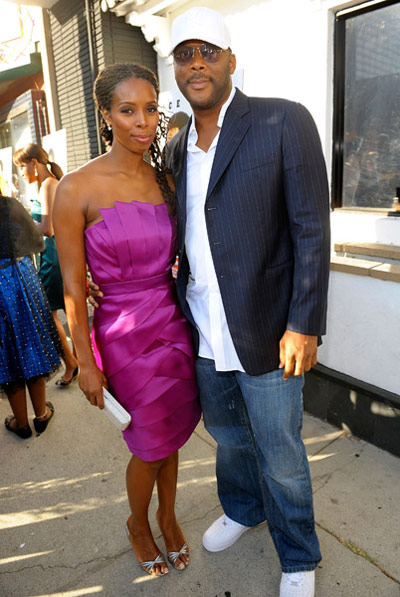 The Longshots movie premiere - Tasha Smith and Tyler Perry