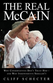 The Real John McCain book cover - tiny size