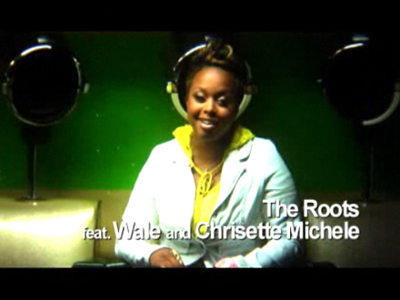 Chrisette Michele sings in Rising Up