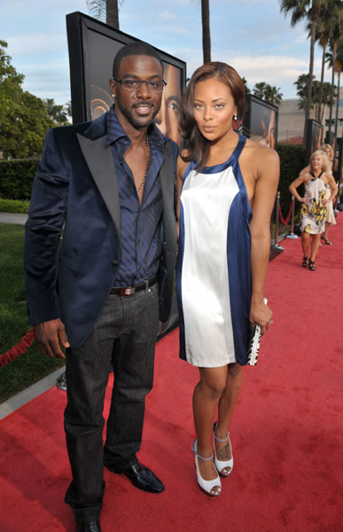 Eva Pigford and Lance Gross at The Soloist premiere