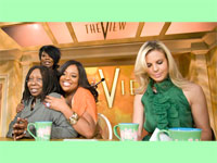 The View Girls - Whoopi Goldberg, Sherri Shepard and Elisabeth Hasselbeck