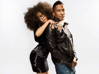 Trace magazine - Erykah Badu and Q-Tip