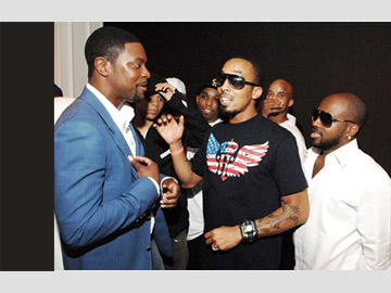 Chris Tucker - Rush Hour 3 - Atlanta premiere
