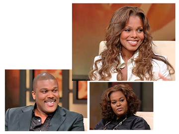 Tyler Perry and Why Di I Get Married cast on Oprah