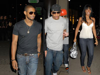 Usher, Nelly, Kelly Rowland hit a London club