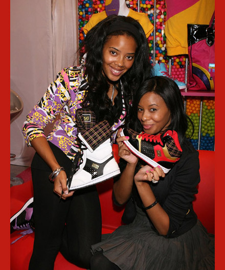 Vanessa and Angela Simmons debut new pastry sneakers