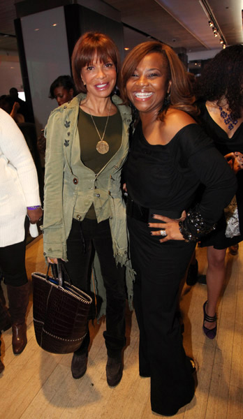 Sylvia Rhone and Mona Scott at the 3rd annual Ween awards