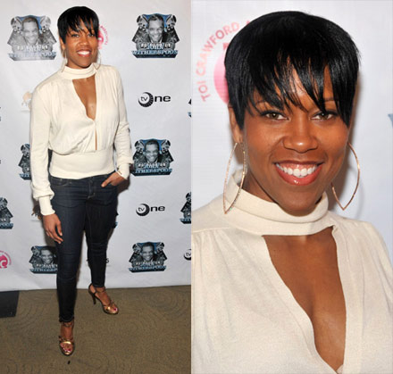 Regina King at TV One's John Witherspoon Roast and Toast