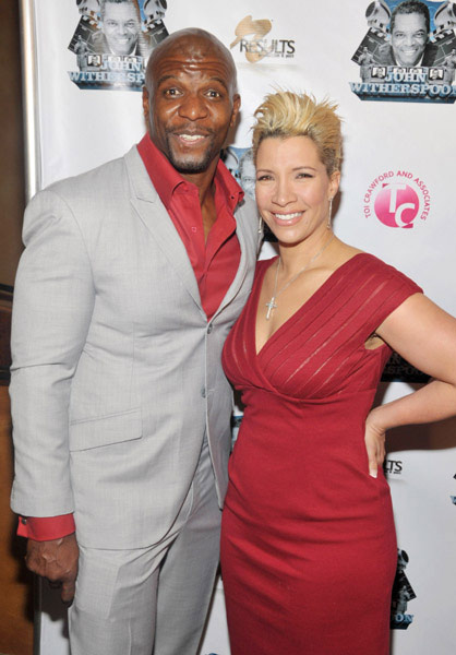 Terry and Rebecca Crews at TV One's John Witherspoon Roast and Toast