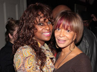 Yo-Yo and Sylvia Rhone at birthday bash